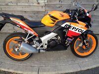 125 Honda CBR 125R - 2013 - Just 8500 Miles & Full Honda Service History