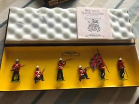 Royal Infantry Britain's hand painted Soldiers