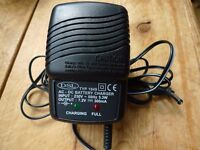 Johnlite type 1949 Battery Charger 7.2V 300mA (for torch)