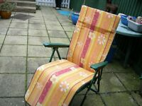 Folding Chair for garden or patio , or camping