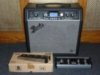 Fender G-Dec 3 Thirty 30w 1x10 combo with Fender 4 button footswitch