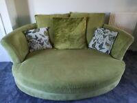 DFS Shaldon 4-seater lounger and cuddler sofa