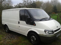 Ford transit Panel Van swb. full mot. 2004