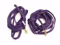 Richard Maxwell 9 metre/ 30 ft Horse training Lunge lines in purple - Used