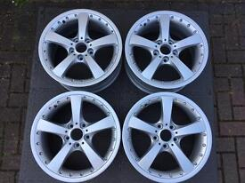 "18"" BMW alloy wheels"