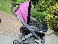 Oyster Pushchair and Cot