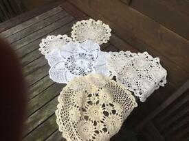Various dollies used at wedding
