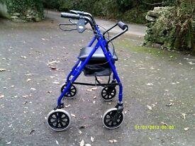 Four Wheeled Stroller / Walking Frame .