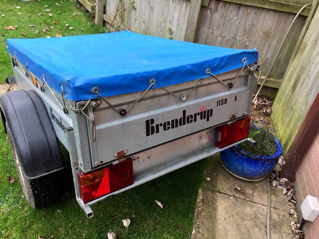 Brenderup 1150 S Trailer 5ft x 3ft (not ERDE, Daxara, Caddy)