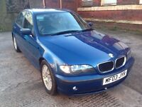 BMW 3 SERIES 2.0 318i ES 4dr LOW MILES+YEAR MOT+AUTOMATIC RING NOW FOR MORE INFO 07735447270