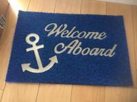 Boat welcome aboard matt