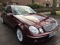 ABSOLUTELY STUNNING MERCEDES E320CDi ELEGANCE AUTO.ALMOST FULL SERVICE HISTORY.2 FORMER KEEPERS.