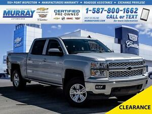 2015 Chevrolet Silverado 1500 **Box Liner!  LED Headlights!**