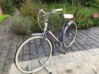 Traditional Vintage Raleigh ladies bike