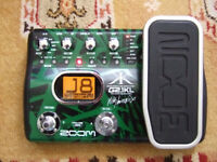 Zoom G2.1KL Electric Guitar Effects Pedal & USB Audio Interface :- Delay Chorus Wah Drums etc