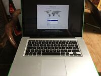 "Apple Macbook Pro 15"" Quad Core i7 16GB Memory in excellent condition Very Fast latest software!"