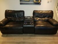 Recliner Sofa + 2 two seaters