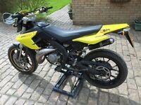 2012 DERBI SENDA SM EVO 50cc in very good condition with new MOT