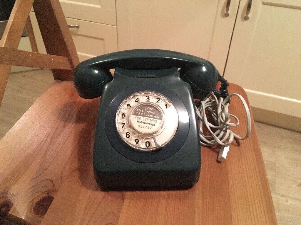 Vintage retro telephone