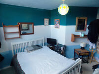 Small double room available for single occupancy available.