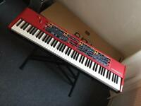 NORD STAGE 2 EX 88 Hammer Action with FLIGHT CASE
