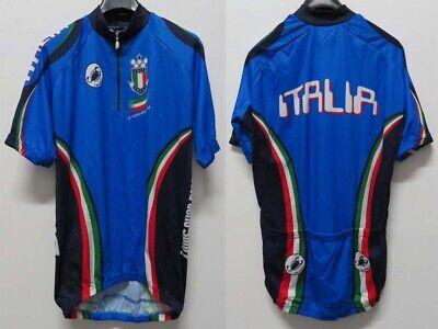 MAGLIA SHIRT JERSEY MAILLOT TRIKOT CICLISMO CYCLING CERAMICHE ITALIA ITALY NEW