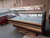NEW £1437 + VAT 180cm (5.9 feet) Serve Over Counter Display Fridge WEGA N2403
