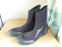 ALDER EDGE WETSUIT BOOTS - ADULTS for Diving Canoeing Jetski Surf