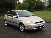QUICK SALE WANTED! 2001 Ford Focus Zetec 1.6i Petrol Manual 5door