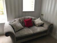 Laura Ashley 2 seater sofa - French Grey