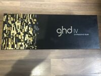 GHD IV straighteners (6 months old, boxed)