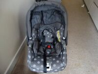 Mamas and Papas baby car seat for sale