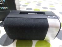 Compact speaker with dock for iPod and iPhone (from John Lewis)
