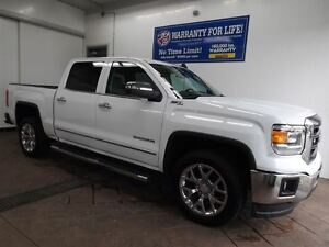 2015 GMC Sierra 1500 SLT 4X4 LEATHER CREW CAB NAV 5.3L