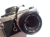 Olympus OM-1 + 50mm F1.8