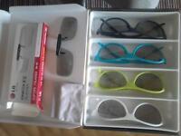 3D glasses X 5
