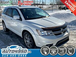 2012 Dodge Journey GARANTIE 3 ans, R/T, AWD, NAVI, CAMERA RECULE