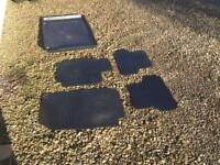 Renault Clio 06-12 boot tray and Mat set