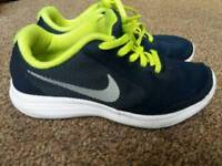 Junior size 3 Nike trainers