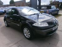 2006 RENAULT MEGANE 1.9DCI DYNAMIQUE, AUTOMATIC, DIESEL 5DOOR, SERVICE HISTORY, DRIVES LIKE NEW