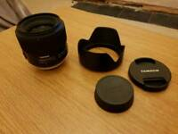Tamron 35mm f1.8 VC (vibration control) Nikon fit boxed almost new