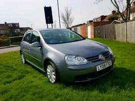 Volkswagen Golf 5 door hatchback... low mileage.