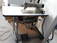 Brother industrial sewing machine...sews really well, selling due to needing the space.