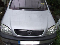 ZAFIRA FRONT BONNET IN SILVER Breaking for parts in GATWICK