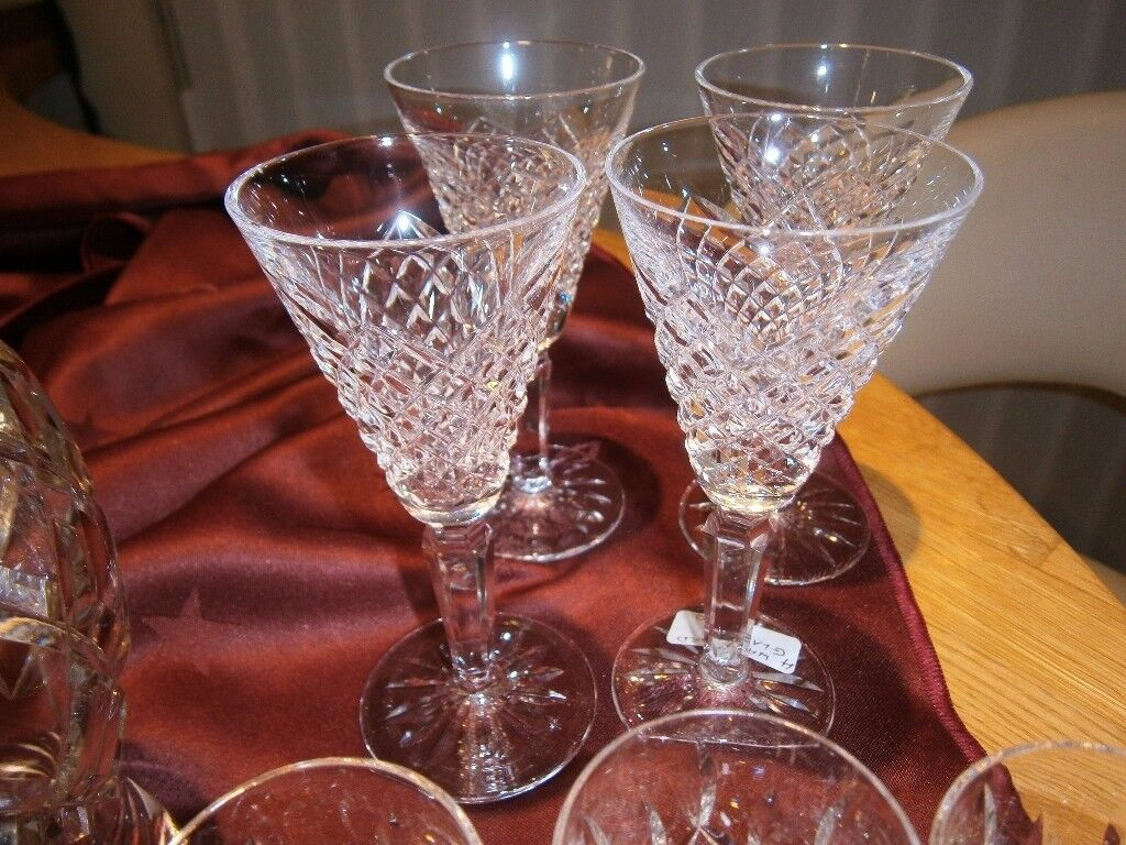 Selection of Waterford crystal