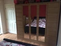 Solid well made Bedroom furniture in oak