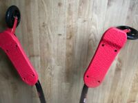 Great Condition Yvolution Y Fliker A3 Air - Red Age 7+