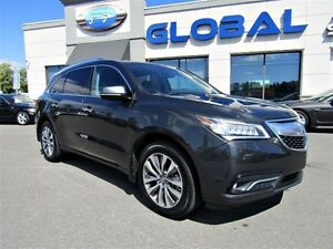 2014 Acura MDX Navigation Package LEATHER SUNROOF