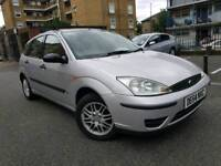 54 PLATE FORD FOCUS 1.6 LX MANUAL PETROL SILVER **ONLY £950**