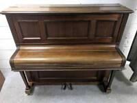 Lovely Dark Oak 'Branston' Upright Console Piano - CAN DELIVER